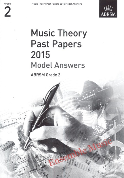Music Theory Past Papers 2015 Gr 2 model anwers