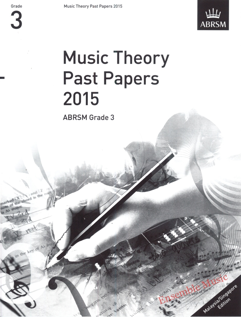 Music Theory Past Papers 2015 Gr 3 1