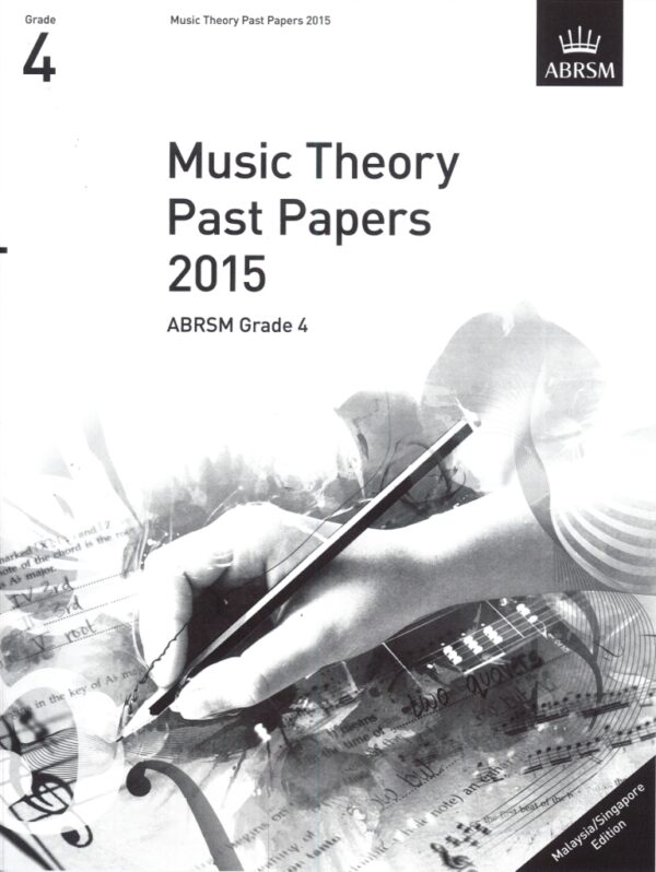 Music Theory Past Papers 2015 Gr 4