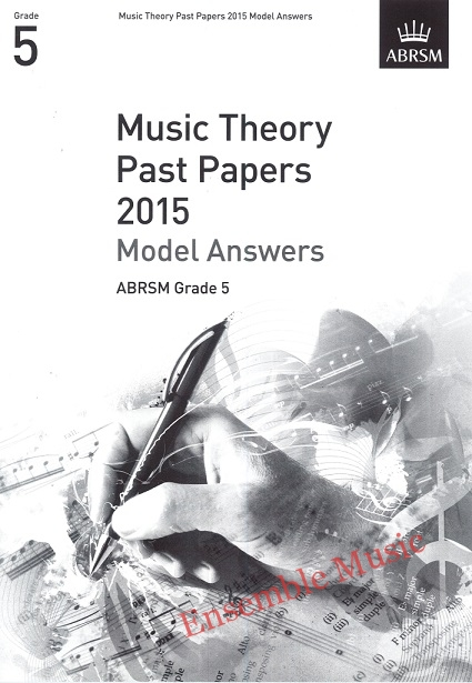 Music Theory Past Papers 2015 Gr 5 model anwers