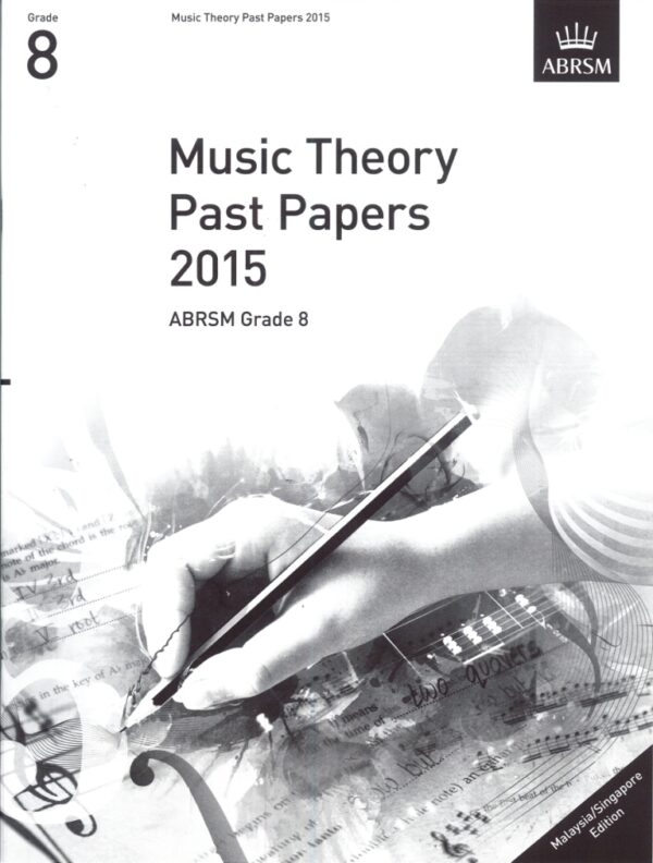 Music Theory Past Papers 2015 Gr 8