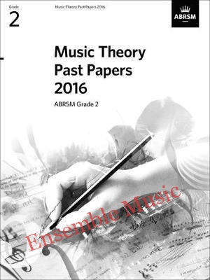 Music Theory Past Papers 2016 Gr 2 model anwers