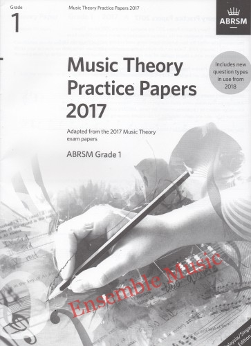 Music Theory Past Papers 2017 Gr 1