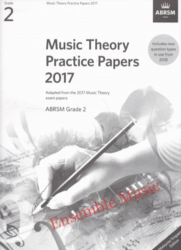 Music Theory Past Papers 2017 Gr 2