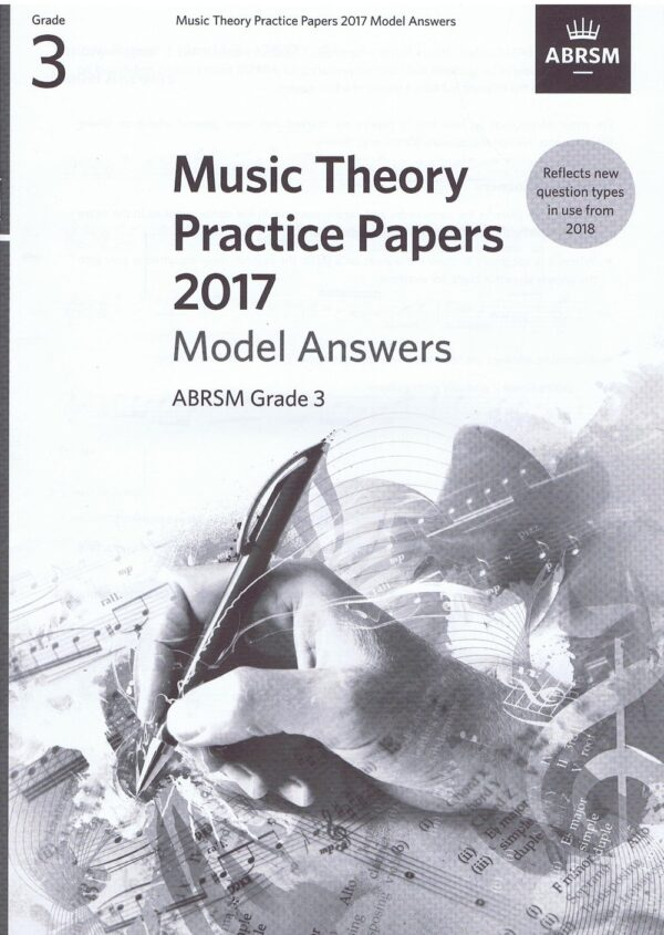 Music Theory Past Papers 2017 Gr 3 model anwers