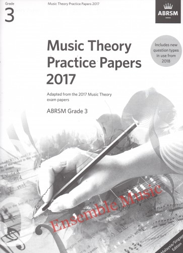 Music Theory Past Papers 2017 Gr 3