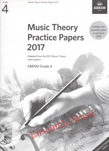Music Theory Past Papers 2017 Gr 4