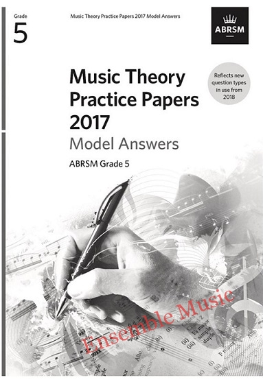 Music Theory Past Papers 2017 Gr 5 model anwers