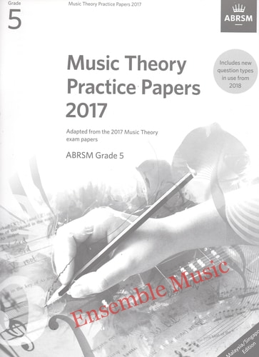 Music Theory Past Papers 2017 Gr 5