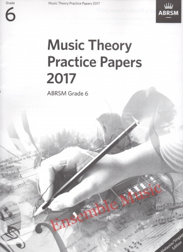 Music Theory Past Papers 2017 Gr 6