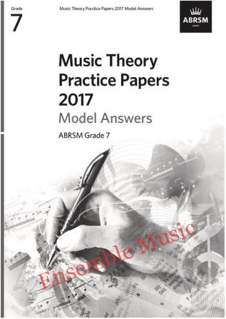 Music Theory Past Papers 2017 Gr 7 model anwers