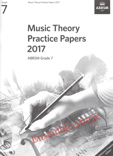 Music Theory Past Papers 2017 Gr 7