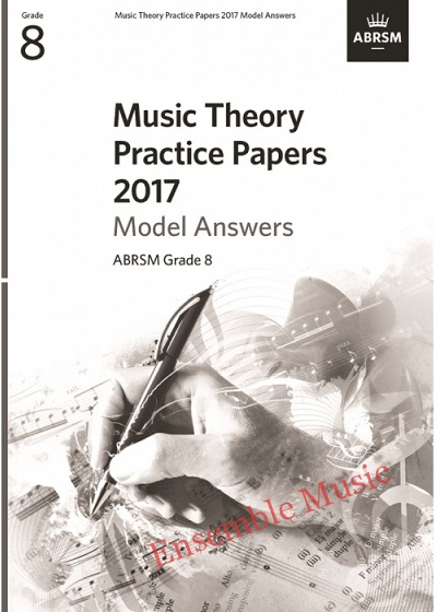 Music Theory Past Papers 2017 Gr 8 model anwers