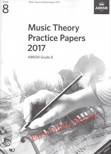 Music Theory Past Papers 2017 Gr 8