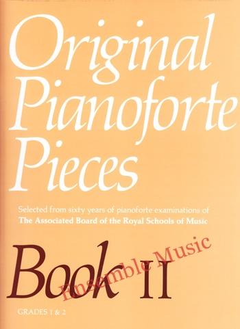 Original Pianoforte Pieces Book II