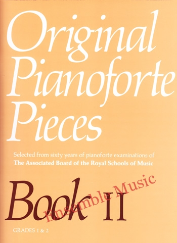Original Pianoforte Pieces Book II