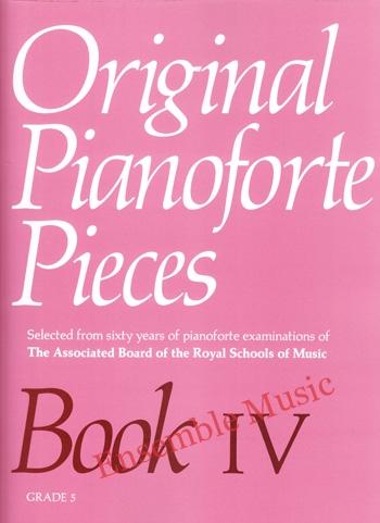 Original Pianoforte Pieces Book IV 1