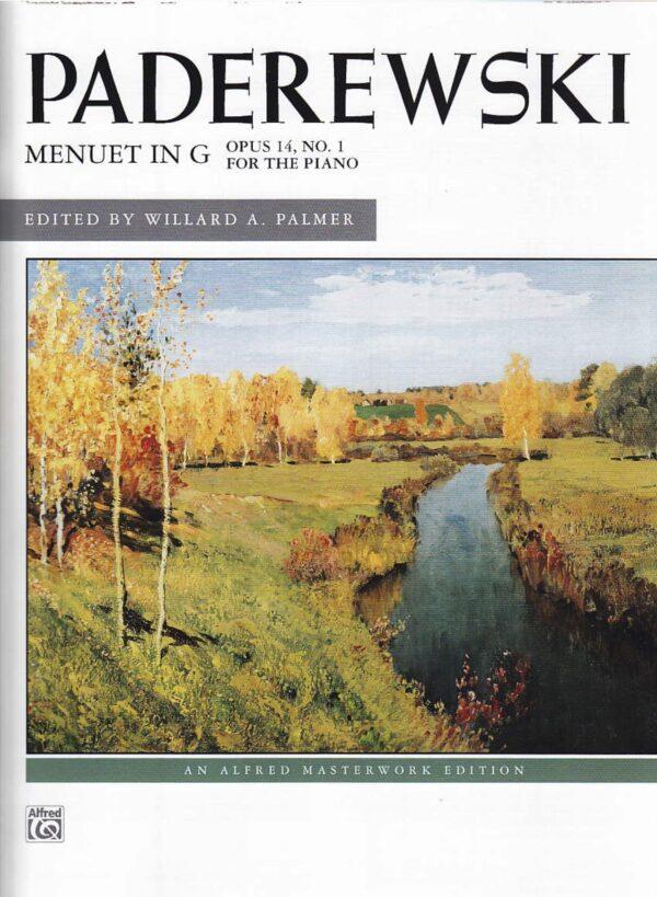 Paderewski Menuet in G Opus 14 No. 1