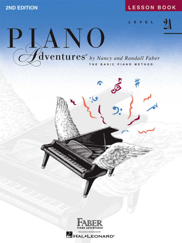 Piano Adventure Lesson Book 2A