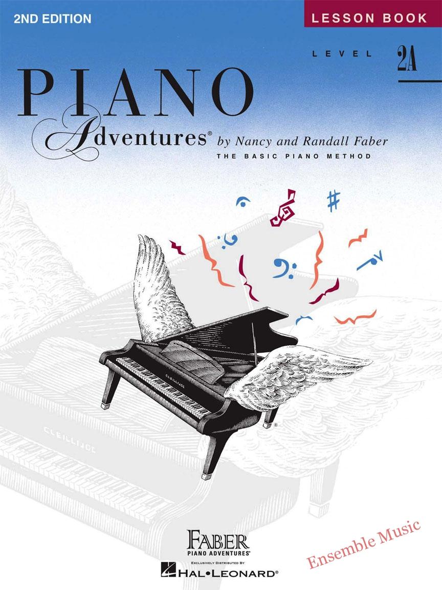 Piano Adventure Lesson Book 2A