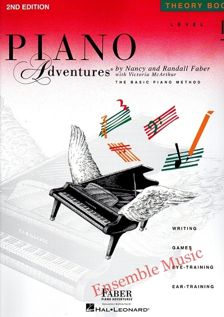 Piano Adventures Theory level nd edition