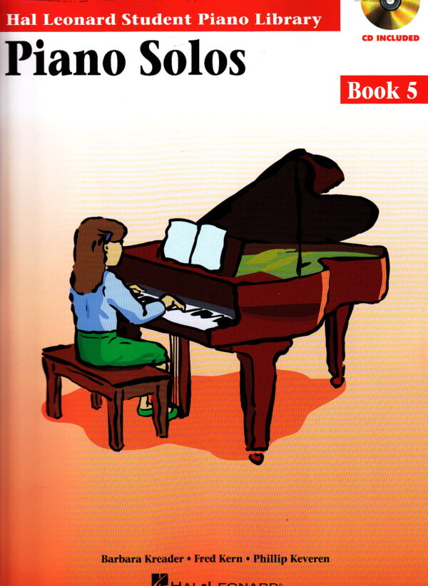 Piano Solos Book 5 Book CD Pack