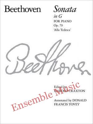 Piano Sonata in G Alla Tedesca Op. 79 No. 25