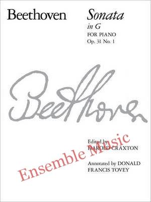 Piano Sonata in G Op. 31 No. 1