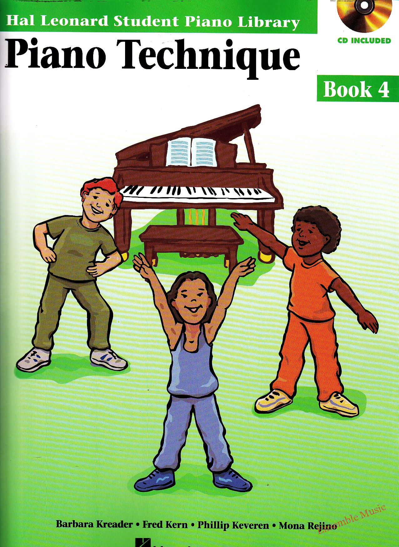 Piano Technique Book 4 with cd