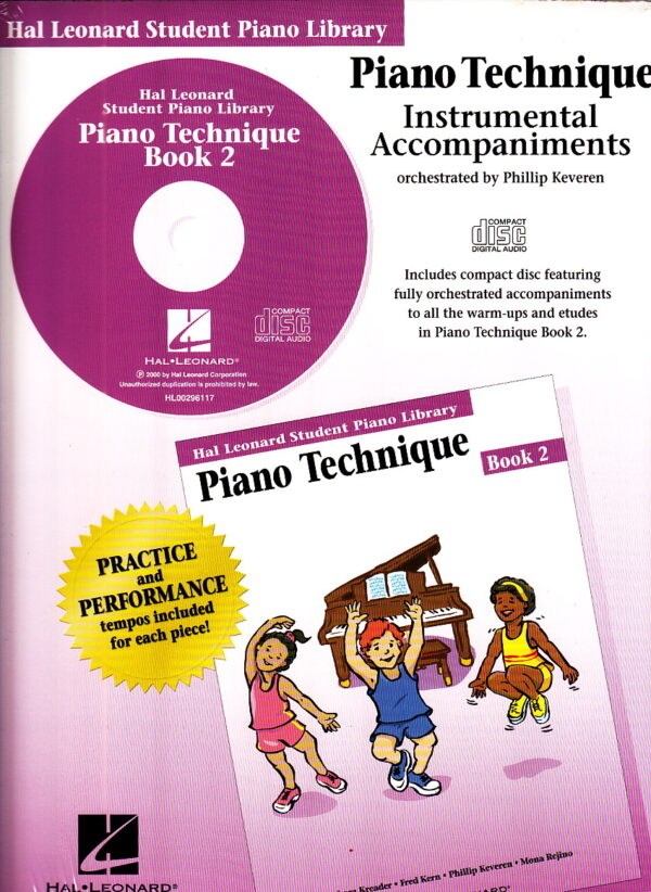 Piano Technique Instrumental Accompaniments Bk 2