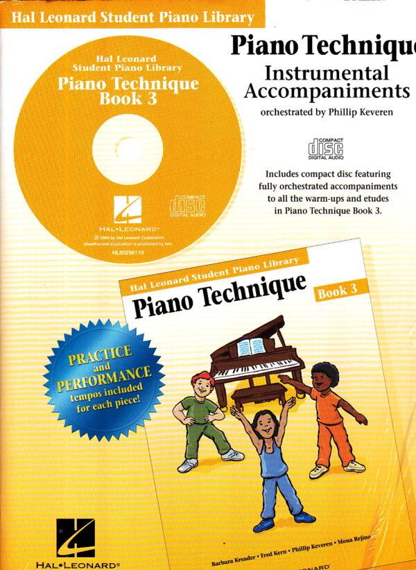 Piano Technique Instrumental Accompaniments Bk 3