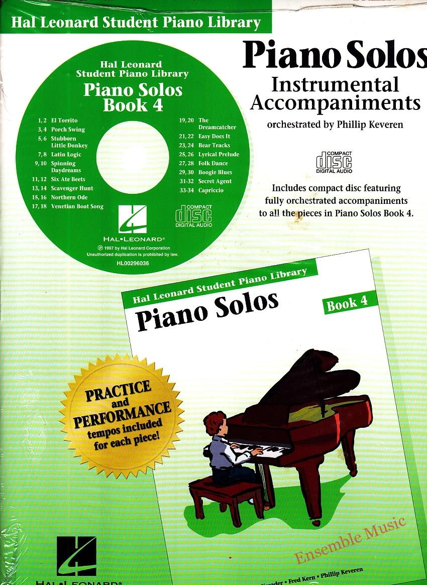 Piano Technique Instrumental Accompaniments Bk 4