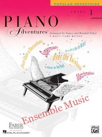 Piano adventures popular repertoire level