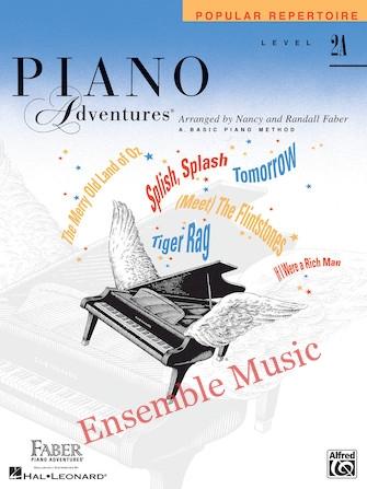 Piano adventures popular repertoire level a