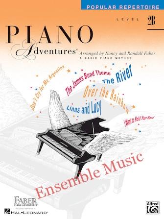 Piano adventures popular repertoire level b