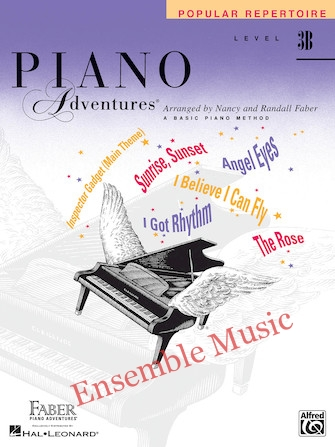 Piano adventures popular repertoire level b