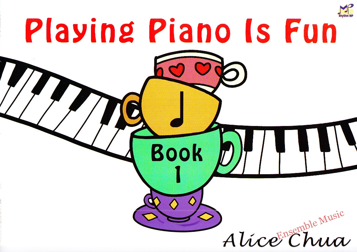 Playing Piano is fun Book 1
