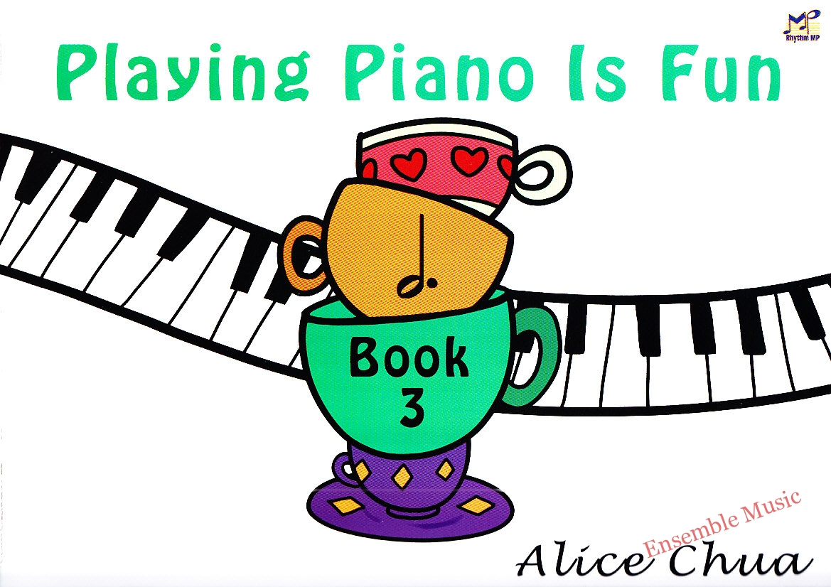 Playing Piano is fun Book 3
