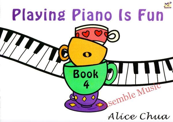 Playing Piano is fun Book 4