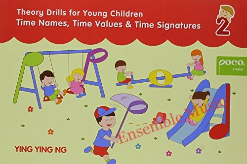 Poco Theory Drills for Young Children Book