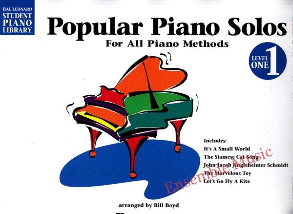 Popular Piano Solos Level 1