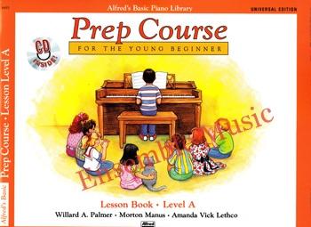 Prep Course Lesson Level A 1