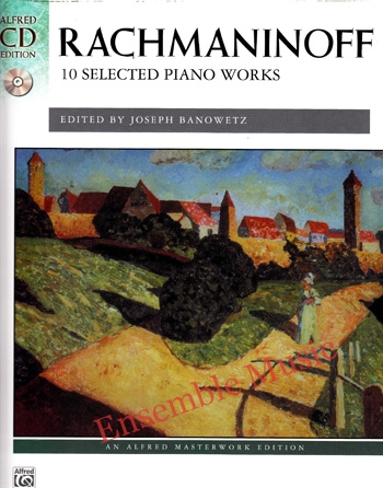 Rachmaninoff 10 Selected Piano Works CD