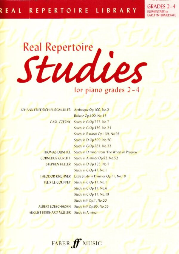 Real Repertoire Studies for Piano Gr 2 4