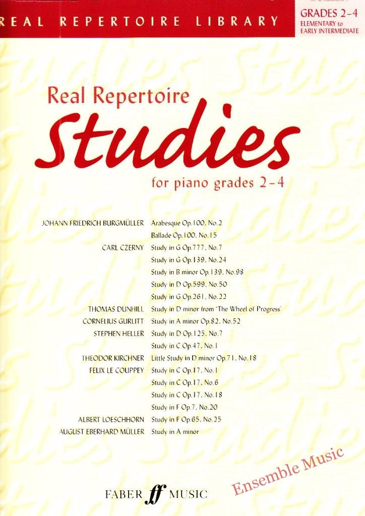 Real Repertoire Studies for Piano Gr 2 4