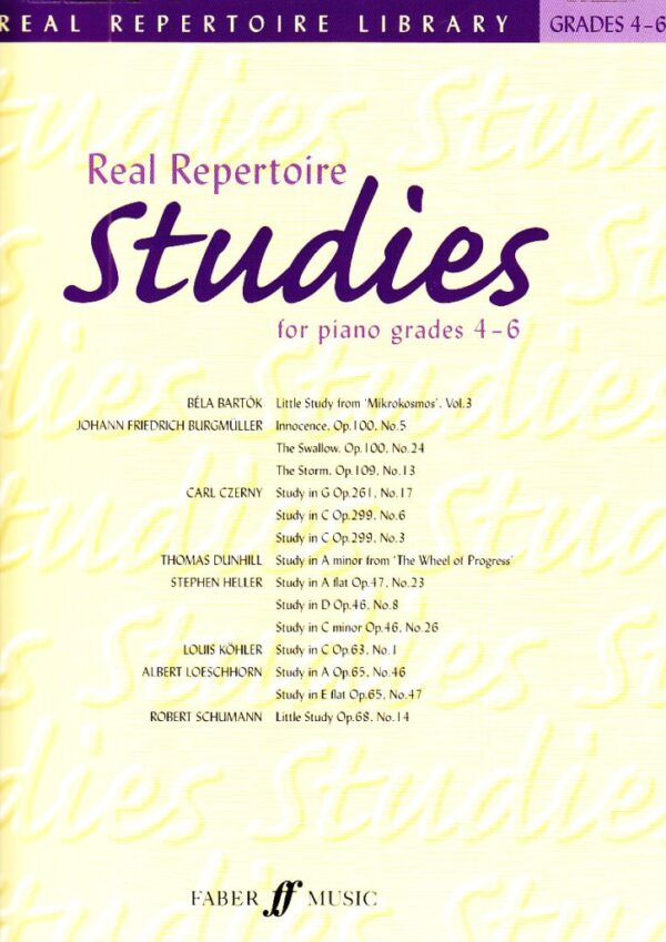 Real Repertoire Studies for Piano Gr 4 6