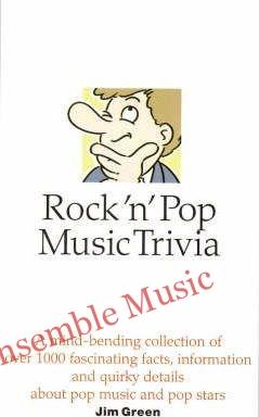 Rock n pop music trivia
