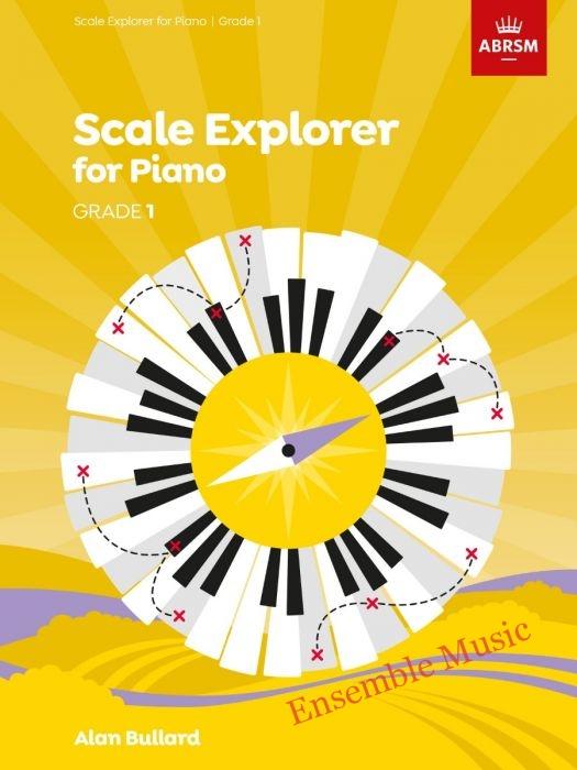 Scale explorer for piano grade 1