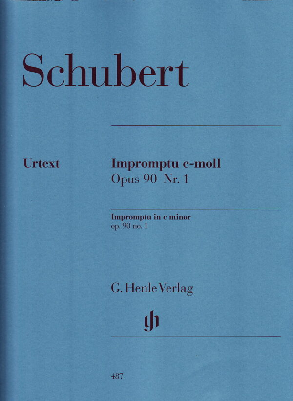 Schubert Impromptu in C Minor Op 90 No 1