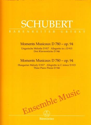 Schubert Moments Musicaux D 780 op.94